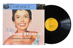Lena Horne With Lennie Hayton And His Orchestra / It's Love / リナ・ホーン<img class='new_mark_img2' src='https://img.shop-pro.jp/img/new/icons3.gif' style='border:none;display:inline;margin:0px;padding:0px;width:auto;' />