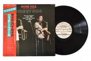 Richie Cole With Phil Woods / Side By Side / リッチー・コール<img class='new_mark_img2' src='https://img.shop-pro.jp/img/new/icons3.gif' style='border:none;display:inline;margin:0px;padding:0px;width:auto;' />