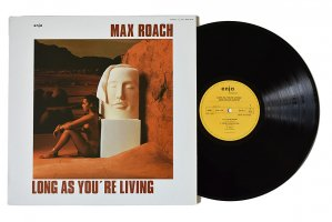 Max Roach / Long As You're Living / マックス・ローチ<img class='new_mark_img2' src='https://img.shop-pro.jp/img/new/icons3.gif' style='border:none;display:inline;margin:0px;padding:0px;width:auto;' />