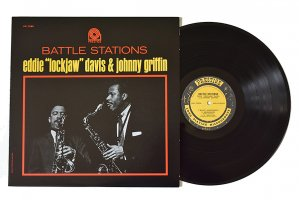 Eddie Lockjaw Davis & Johnny Griffin / Battle Stations / エディー・ロックジョウ・デイビス & ジョニー・グリフィン<img class='new_mark_img2' src='https://img.shop-pro.jp/img/new/icons3.gif' style='border:none;display:inline;margin:0px;padding:0px;width:auto;' />