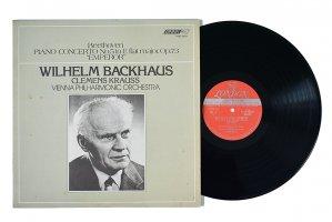 ベートーヴェン : ピアノ協奏曲 第5番「皇帝」 / ウィルヘルム・バックハウス / クレメンス・クラウス / ウィーン・フィルハーモニー管弦楽団