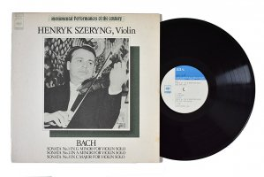 バッハ : 無伴奏ヴァイオリン・ソナタ 第1番、第2番、第3番 / ヘンリック・シェリング (ヴァイオリン)