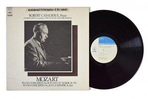 モーツァルト : ピアノ協奏曲 第18番、第20番 / ロベール・カサドシュ (ピアノ) / ジョージ・セル / クリーヴランド管弦楽団