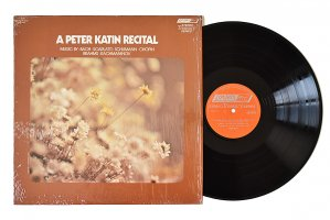 A Peter Katin Recital / ピーター・ケイティン / ピアノ・リサイタル<img class='new_mark_img2' src='https://img.shop-pro.jp/img/new/icons3.gif' style='border:none;display:inline;margin:0px;padding:0px;width:auto;' />