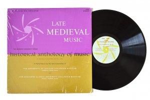 Late Medieval Music / Archibald T. Davison and Willi Apel