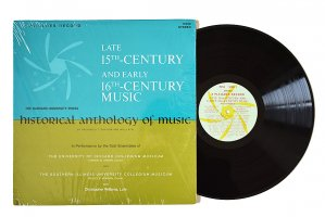 Late 15th-Century And Early 16th-Century Music / Archibald T. Davison and Willi Apel
