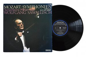 モーツァルト : 交響曲 第40番、第41番「ジュピター」 / サヴァリッシュ / チェコ・フィルハーモニー管弦楽団