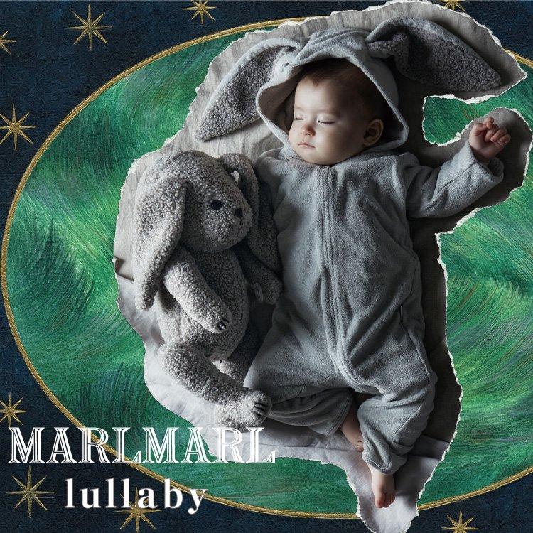 マールマール ナイトウェア MARLMARL lullaby ララバイ ベビー服 耳付き 女の子 男の子 キッズ服 出産祝い ギフト