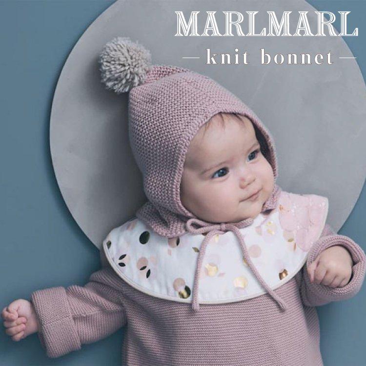 マールマール ニットボンネ MARLMARL knit bonnet 帽子 ベビー 女の子 男の子 出産祝い ギフト