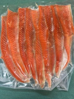 紅鮭ハラス 7~9本 500g
