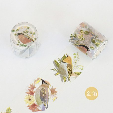 【5%OFF】 金箔 花鳥の舞 40�