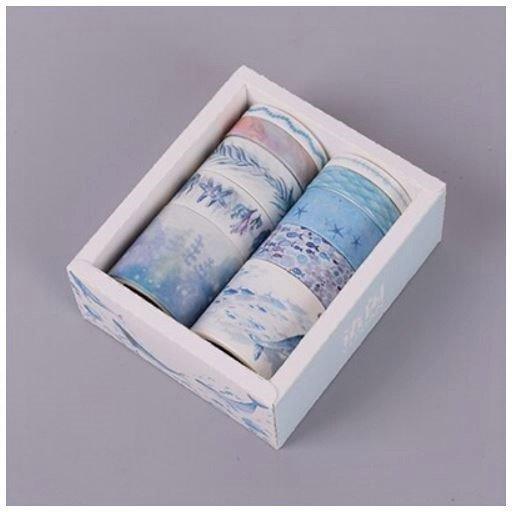 海洋 マスキングテープ【10ピースセット】