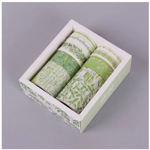 新緑の森 マスキングテープ【10ピースセット】