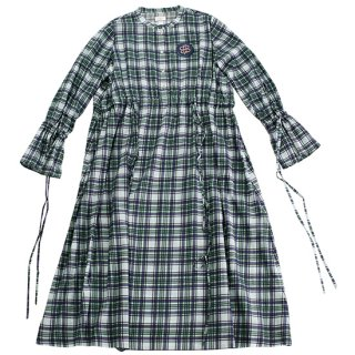 Check Dress (mint)