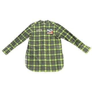 Check Shirts (lime)