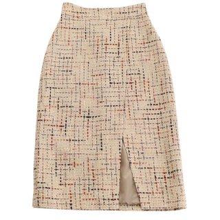 Tweed Skirt (beige)