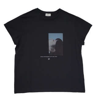 Photo Tshirts ×Rio Hanai (black)