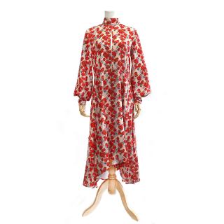 Floral Dress (red)