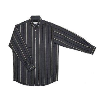 cross stripe blouson (dark gray)