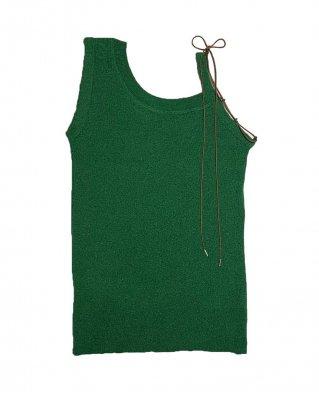 rib tank top (green)
