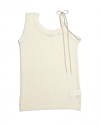 rib tank top (white)