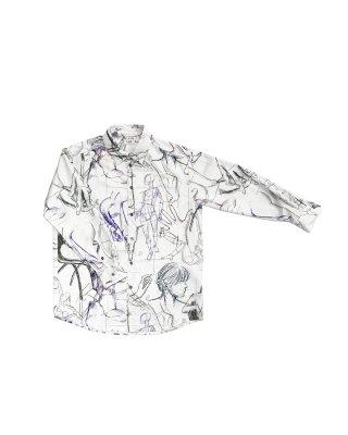 drowing shirts (white)