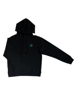 colour emb Parker (black)
