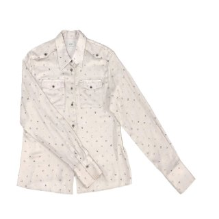 [daughters × tiit tokyo] marble dot blouse