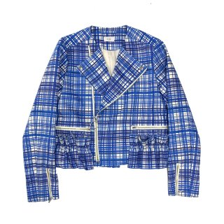 [daughters × tiit tokyo] check racing jacket