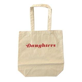 [daughters × tiit tokyo] logo tote bag (beige)