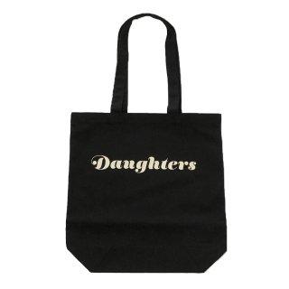 [daughters × tiit tokyo] logo tote bag (black)