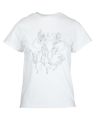 water weed T shirt (white)