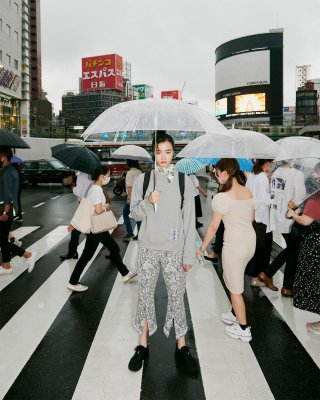 angel patch P/O (gray)