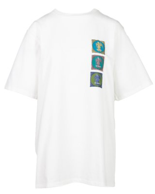 angel patch T shirt (white)