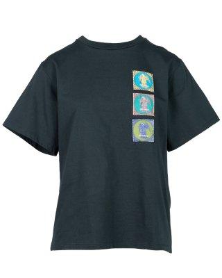angel patch T shirt (green)
