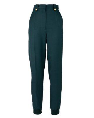 rib pants (green)