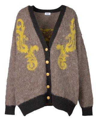 angel knit cardigan (beige)