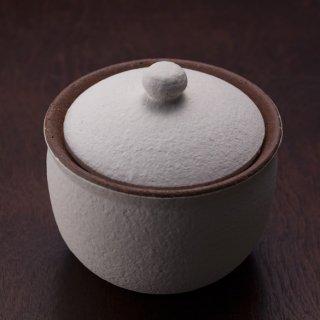 塩壺 白 大 | 信楽焼