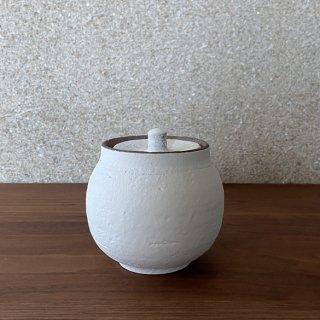 塩壺 白 小 | 信楽焼