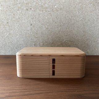 博多曲物(曲げわっぱ)の弁当箱 オリジナル 小 | 柴田徳商店