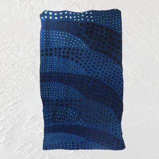 泥藍染フリーカバー 270cm×140cm NDOMO | 一点もの