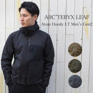 新型!!ARC'TERYX LEAF / アークテリクスリーフ / Atom Hoody LT Men's Gen2 / アトムフーディーLT Gen2 / 21499