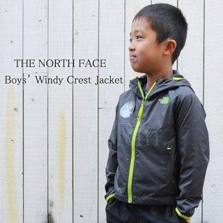 THE NORTH FACE / ノースフェイス /  Boys' Windy Crest Jacket / KID's / 子供 / シェルジャケット / NF0A3NM5044