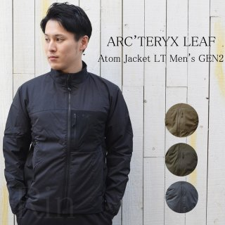 新型モデル!!ARC'TERYX LEAF / アークテリクスリーフ / Atom Jacket LT Men's GEN2 / アトムジャケットLT / Gen2 / 21498