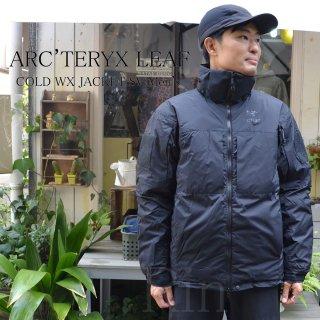 ARC'TERYX LEAF / アークテリクスリーフ / COLD WX JACKET SV Men's / コールドWXジャケットSV / Climashield / 15383