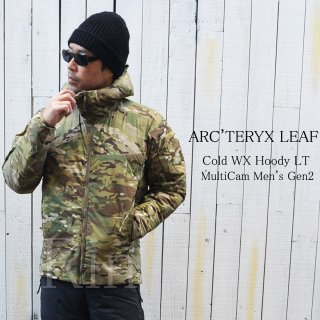 新型モデル!!ARC'TERYX LEAF / アークテリクスリーフ / Cold WX Hoody LT MultiCam Men's Gen2 23690