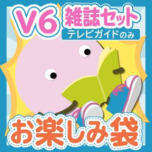 V6 雑誌(テレビガイドのみ)10冊セットお楽しみ袋