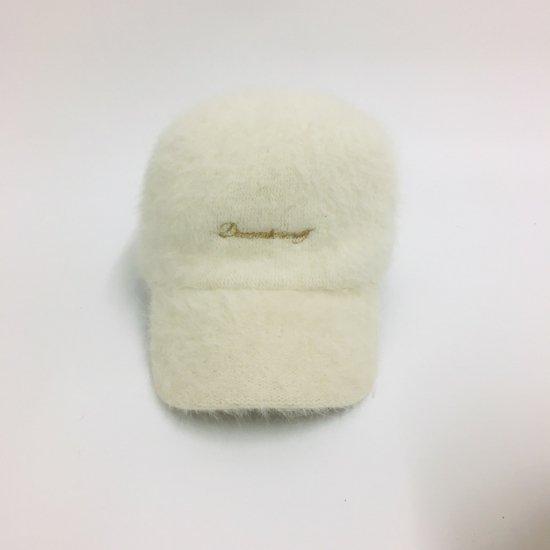 fluffy Shaggy cap / women