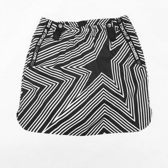 〈再入荷!!〉Star tribal some-tight Skirt / WOMAN