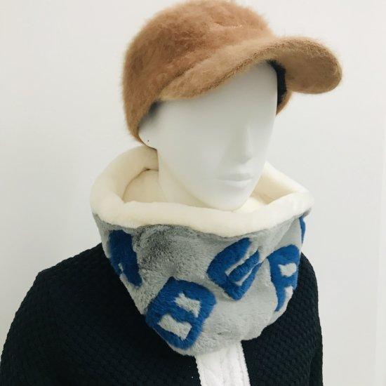 Eco fur neck warmer / unisex